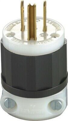 Groundng Plug 3Wire 15A By Leviton Mfg. Co. Mfrpartno 05266-00C