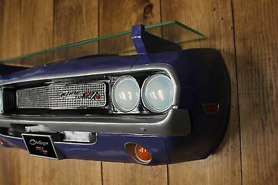 1970 Dodge Challenger Car Wall Decor Shelf - Man Cave Funiture