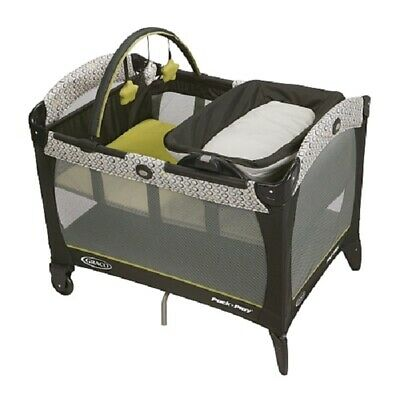Graco Playard  Pack 'n Play Playard w Reversible Napper & Changer - San Marino