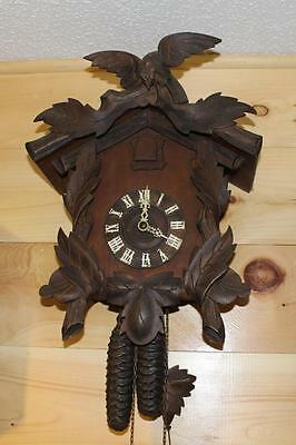 Antique American Cuckoo Clock Co. Cuckoo Clock
