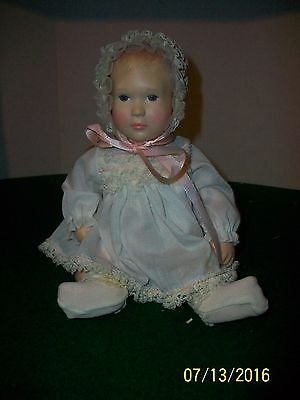 Effanbee 11 inch Baby Doll in original Outfit