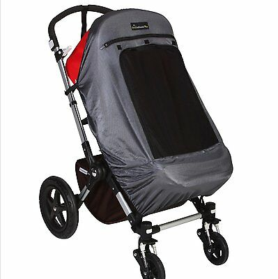 NDB-CR-Snoozeshade Plus Deluxe Sunshade for Single Strollers/Joggers/Prams