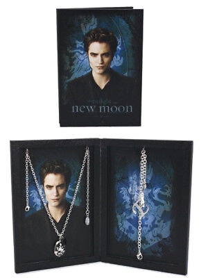TWILIGHT New Moon - 'Edward' Bracelet & Necklace Set (NECA) #NEW