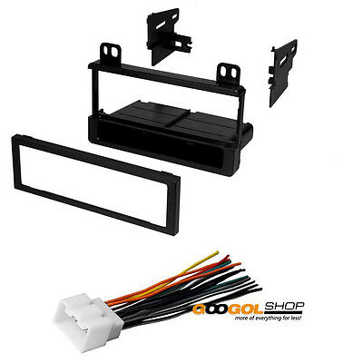Car Radio Single DIN Dash Kit for 95-08 Ford/Lincoln/Mercury With Wiring Harness