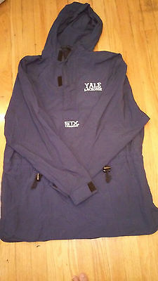 Size Large Yale Lacrosse Pullover Team Jacket by STX 1990s ?