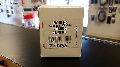 Johnson/Evinrude/Suzuki New OEM OIL FILTER 0778886, 778886, 5033539, 16510-90J00
