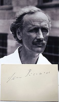 Jean Piccard Prominent Swiss Inventor, Balloonist, Engineer Autograph ''Rare''