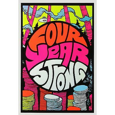 Four Year Strong - Blacklight Poster