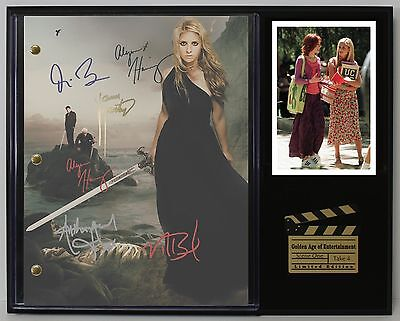 Buffy The Vampire Slayer Reprinted Autograph TV Script Display - USA Ships Free
