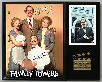 Fawlty Towers - Reprinted Autograph TV Script Display - USA Ships Free