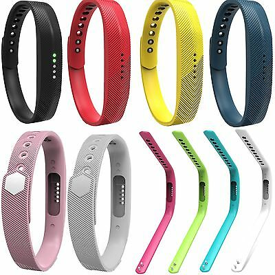 Sports Silicone Wrist Strap For Fitbit Flex 2 Fitness Activity Tracker S Size BD