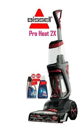 Bissell ProHeat 2X Revolution 1858F with Bonus cleaning Fluids