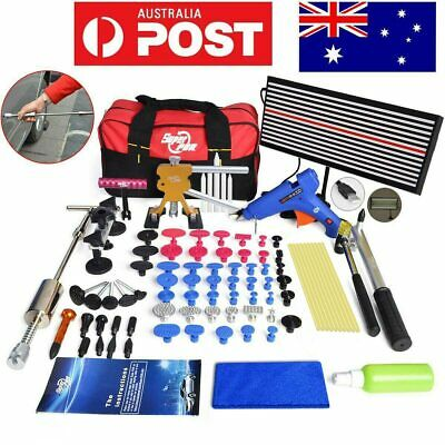 82× PDR Tools Paintless Hail Removal Dent Puller Lifter LED Line Board Repair