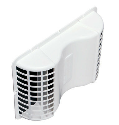 Under Eave Dryer Vent Wh By Deflect-O Mfrpartno Eve/6