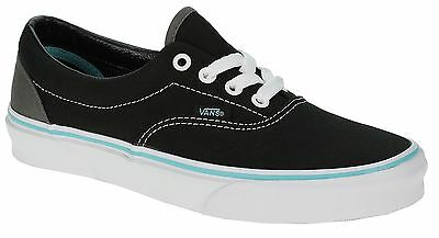 ebfe34f6ac4a8c VANS ERA (HEEL Pop) Black Hawaiian Ocean Men s Skate Shoes SIZE 12 ...