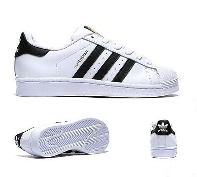 Womens Adidas Superstar White/Black Trainers £66.99