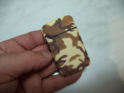 Accendino Easy Torch Jet Flame Mimetico Camouflage Ricaricabile Tipo 1 New