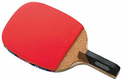 Butterfly Senkoh 2000 Penhold Brown Table Tennis Racket Paddle Ping Pong  Rubber