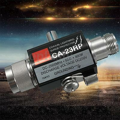 2.5GHZ 400W Coaxial Lightning Surge Protector With N Connector CA-23RP Capacitor