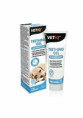 VetIQ Teething Gel For Puppies 50g - Soothes and Calms Sore Gums
