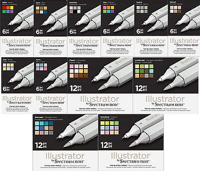 Crafters Companion - Spectrum Noir - ILLUSTRATOR Pens New Product - Free UK p&p