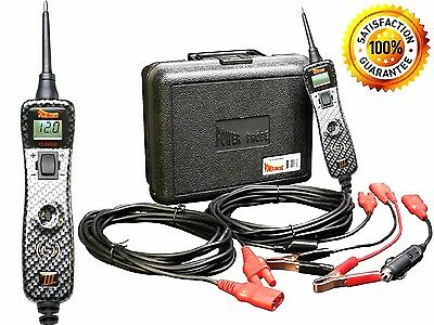 Power Probe 3 PP319FTC-CARB III Carbon Fiber Circuit Electrical Tester Kit Tools