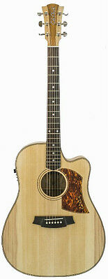 Cole Clark FL2 Acoustic/Electric Guitar - Bunya Top, Qld Maple Back & Sides.