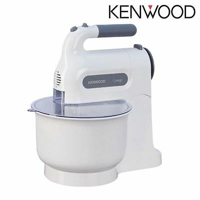 Kenwood Chefette Home Kitchen Hand Cake Dough Mixer +3L Plastic Bowl HM670 White