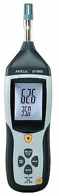 AMECaL ST-8892 Thermometer Humidity Meter Equiv: Dew Point Meter, Hygrometer
