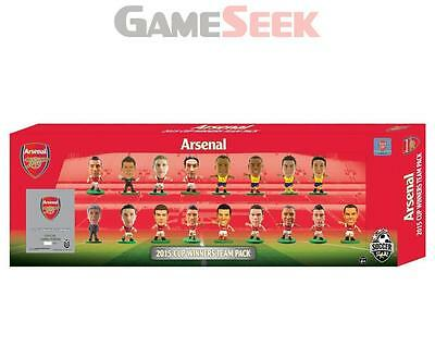 Soccerstarz - Arsenal 2015 Fa Cup Winners 17 Player Team Pack - Toys Brand New