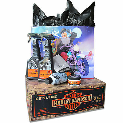Harley Davidson Christmas Motorcycle Care Cleaning Kit