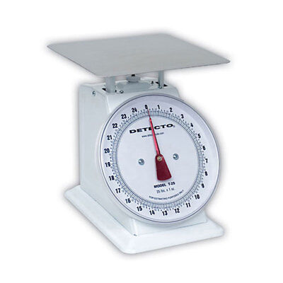 Detecto T10 (T-10) Top Loading Large Dial Scale-10lb capacity