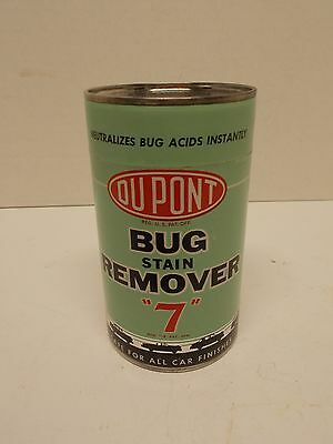 "NOS Vintage DUPONT ""7"" Bug Stain Remover in Unopened Can"