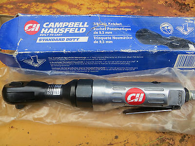 "NEW SEALED Campbell Hausfield 3/8"" Air Ratchet TL1001 CH Pneumatic Drive"