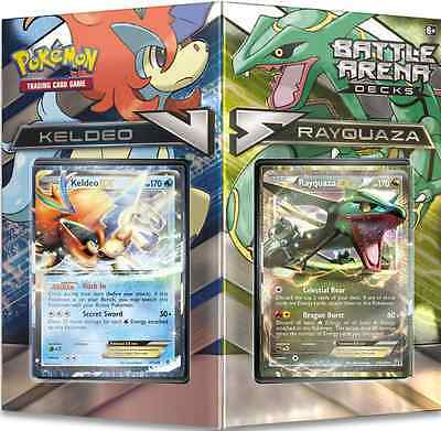 Pokemon Battle Arena Rayquaza & Keldo, NEW