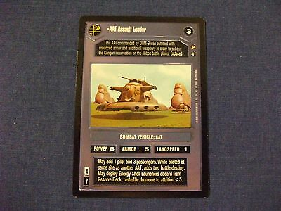 Star Wars CCG Theed Palace Rare Senate Hovercam DS