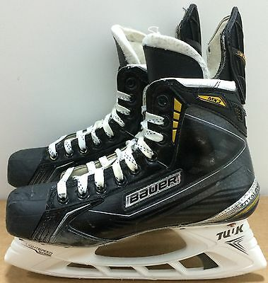 Bauer Supreme MX3 Mens Pro Stock Hockey Skates Size 7.5 (7 1/2) E 5594
