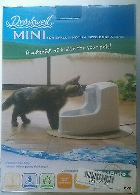 Drinkwell Mini Pet Water Fountain for small & medium Dogs & cats
