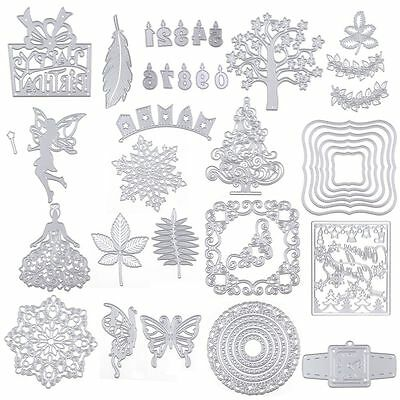 Metal Cutting Dies Stencil For Scrapbooking Album Embossing Paper Card Decor DIY