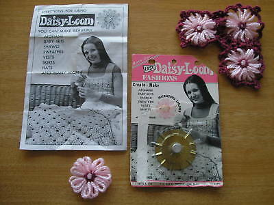 Vintage Easy Daisy-Loom with instruction by C.J. Bates in original pack