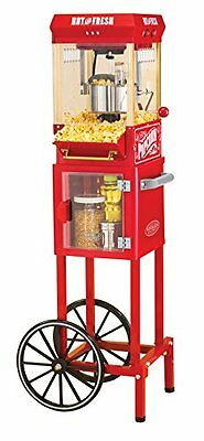 Nostalgia KPM200CART 45-Inch Tall Vintage Collection 2.5-Ounce 10-Cup Kettle