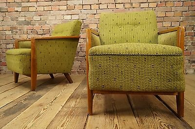 1950s Retro 2x COCKTAIL CHAIR DANISH CHAIRS ARMCHAIRS FAUTEUIL Vintage STILNOVO