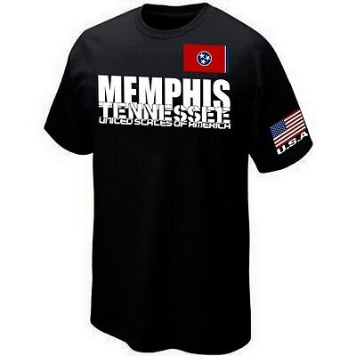 T-Shirt MEMPHIS TENNESSE USA - ETATS UNIS - UNITED STATES - ★★★★★★