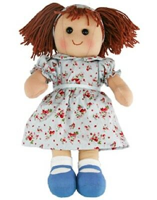 New Childs Toy Rag doll woollen hair soft body & outfit ragdoll dolly - Molly