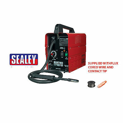 Sealey MIGHTYMIG100 Professional No Gas/Gassless MIG Welder Repairer 100Amp 230V