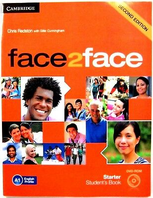 Cambridge Starter Student's Book Face 2 Face Second Edition With Cd-Rom