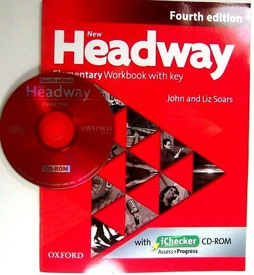 Oxford NEW HEADWAY ELEMENTARY WORKBOOK  EYFOURTH EDITION WITH KAND CD - ROM