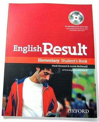 Oxford English Result Elementary Student's Book with student's DVD MARK HANCOCK
