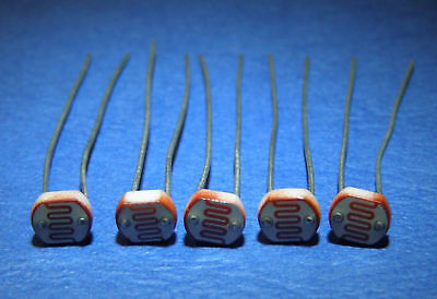 LDR Light Dependent Resistor ....Lot of 10 ..