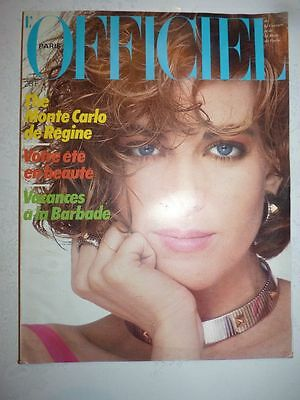 Magazine revue mode L'OFFICIEL #703 juin 1984 The Monte Carlo de Regine